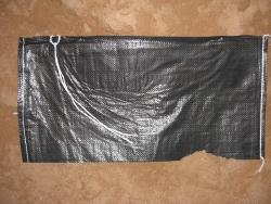 25 Sandsäcke PP SCHWARZ Extra UV